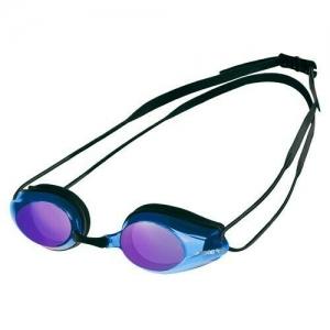 Очки для плавания  ARENA Tracks Mirror , арт.9237074, ЗЕРК-ФИОЛЕТ.линзы, смен.перенос., черная оправа