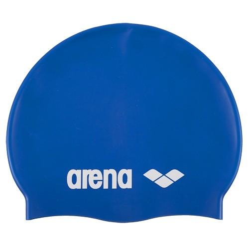 Шапочка для плавания детская  ARENA Classic Silicone Jr , арт.9167077, СИНИЙ, силикон