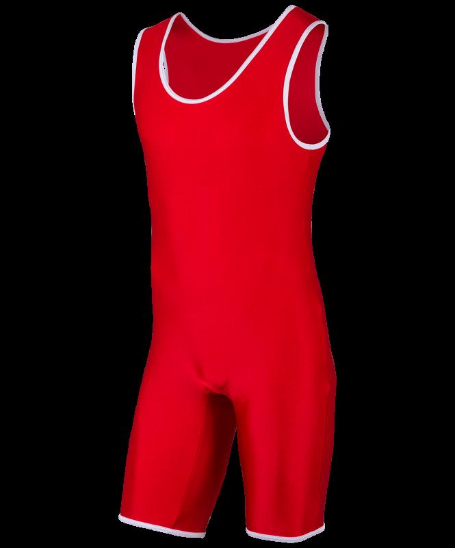 Трико борцовское, MA-401, 44-54, красный, Colton