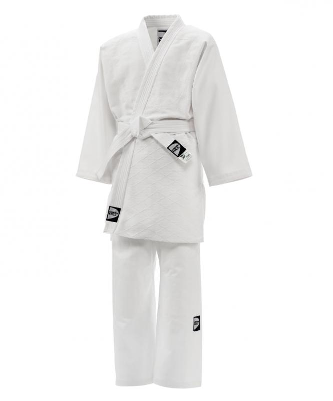 Кимоно для дзюдо JSST-10572, белый, р.2/150, Green Hill