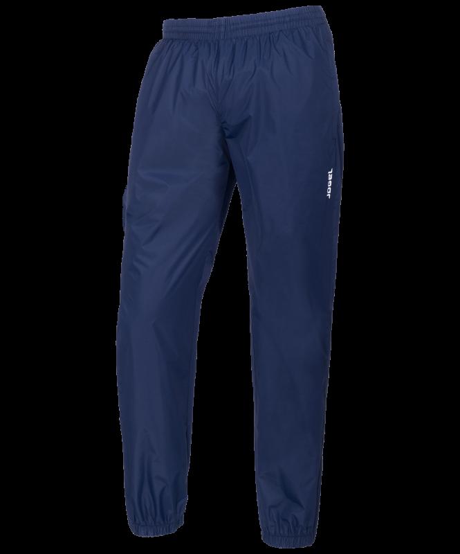Брюки ветрозащитные детские JSP-2501-091, полиэстер, темно-синий/белый, Jögel