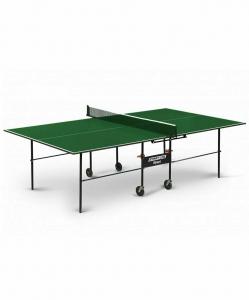 Стол для настольного тенниса Olympic Green с сеткой, Start Line