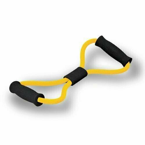 """Эспандер 8 """"восьмерка"""" SKYFIT очень слабое сопр. желтый"""