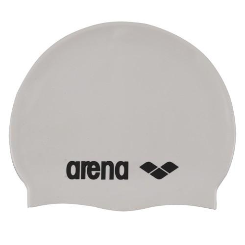 Шапочка для плавания  ARENA Classic Silicone , арт.9166215, БЕЛЫЙ, силикон