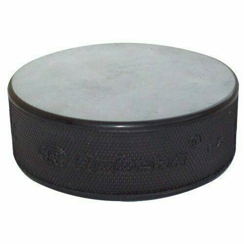 Шайба хоккейная RUBENA , арт.RB-XS75, каучук, диам. 75 мм, выс. 25 мм, вес 170гр, черная