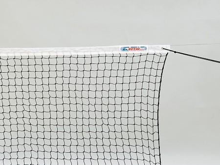 Сетка теннисн. KV.REZAC любит., арт.21015340, нить 2мм ПА, яч. 45 мм, стал. трос, верх. лента ПЭ