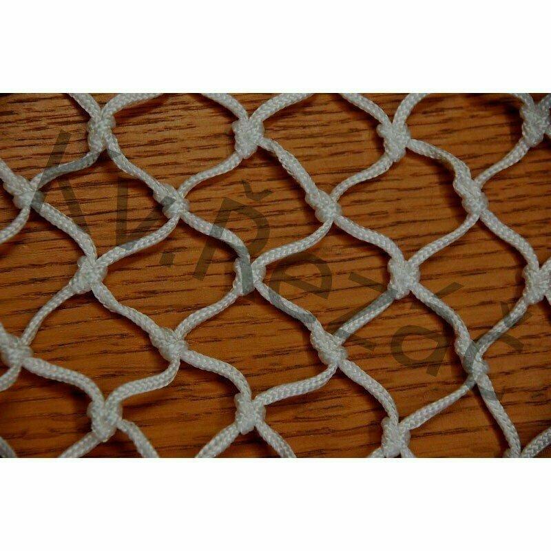 Сетка-гаситель хоккейн. KV.REZAC арт.31965360, a:1.80 b:1.2м, нить 3 мм ПП бел.