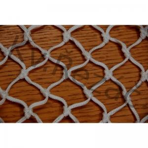 Сетка-гаситель хоккейная  KV.REZAC арт.31975185, a:1.80 b:1.20 , нить 3,5 мм ПА бел.