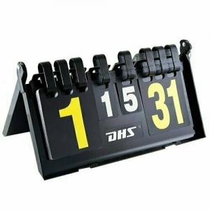 Счетчик судейский DHS F504, счет по парт.,в партии, складной со стопором, пластмас., черн, дл. 39 см