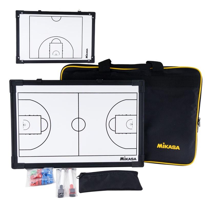 Тактическая доска для баскетбола  MIKASA SB-B ,45х30см,двухстор,кольца для подвеш,маркеры 2-х цв.и фишки в комп