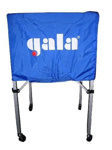Тележка для волейбольных мячей  GALA арт. 2331082/XX41009, 25-30 шт, дл.67см, гл.45 см, выс.103 см, бел-син