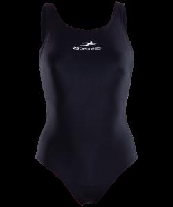 Купальник для плавания Pulse Black, полиамид, детский, 25Degrees