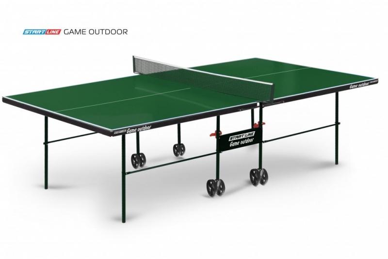 Теннисный стол Start Line Game Outdoor green.