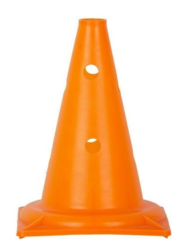 Конус с отверстиями 32 см. (оранжевый)