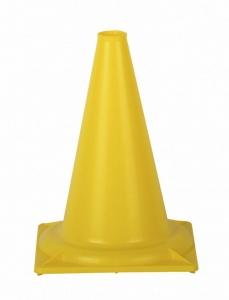 Конус сигнальный 32 см. (желтый)