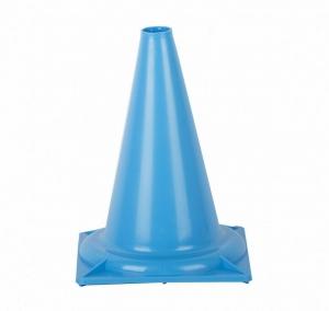 Конус сигнальный 32 см. (голубой)