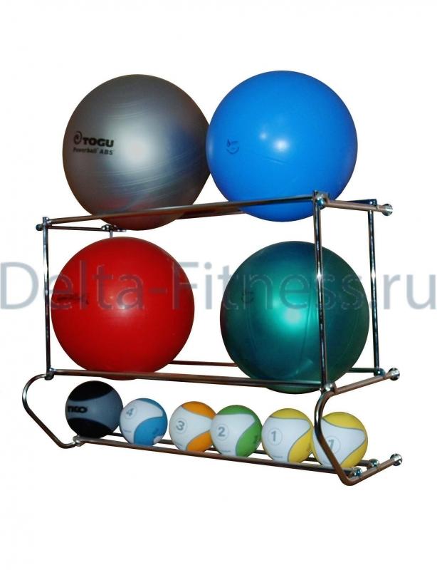 Консоль 3 уровневая для фитболов и медболов