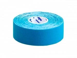 Кинезио тейп BBTape™ 2,5см × 5м голубой