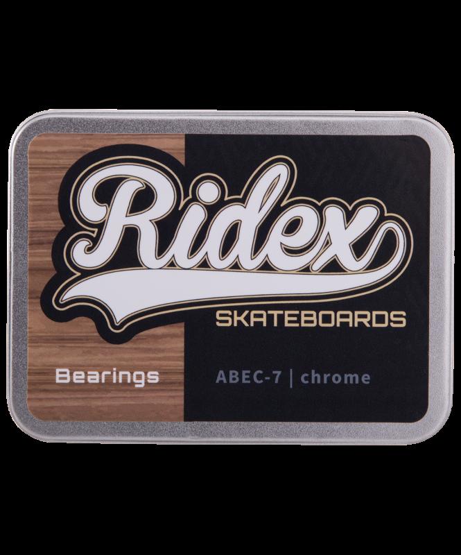 Набор подшипников SB, ABEC-7 Chrome, 8 шт., RIDEX
