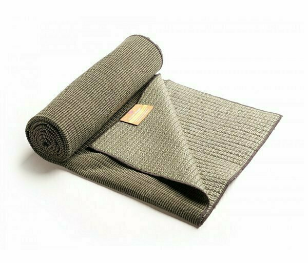 Плед для йоги HUGGER MUGGER Bamboo Yoga Towel серый
