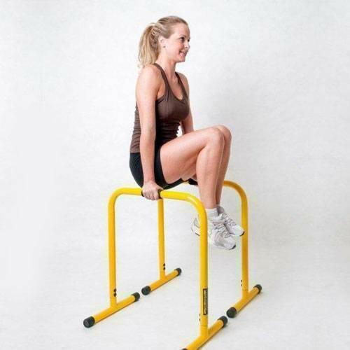 Опоры для функционального тренинга Lebert Equalizer, цвет желтый