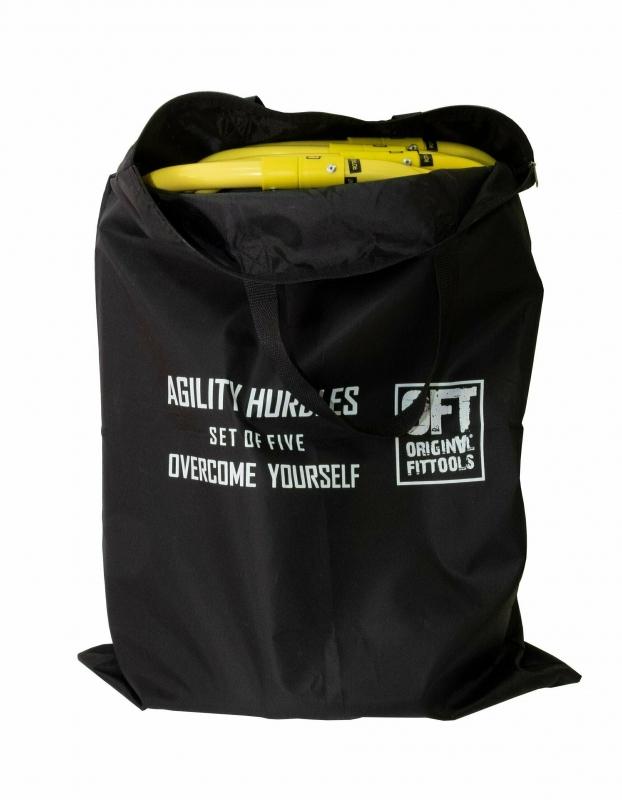 Набор из 5 барьеров складных в сумке Original FitTools FT-5HURDLES