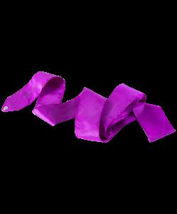 Лента для художественной гимнастики Voyage, 6 м, фиолетовая, Chanté