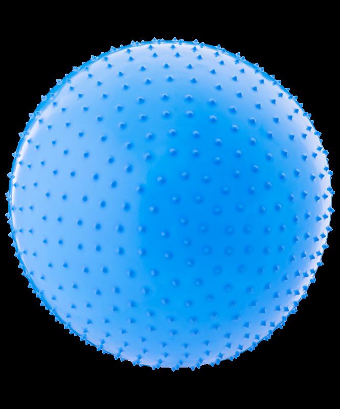 Мяч гимнастический массажный GB-301 55 см, антивзрыв, синий, Starfit