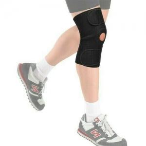 Суппорт колена разъемный TORRES арт.PRL6006, неопрен 3 мм, рег. размер, черный