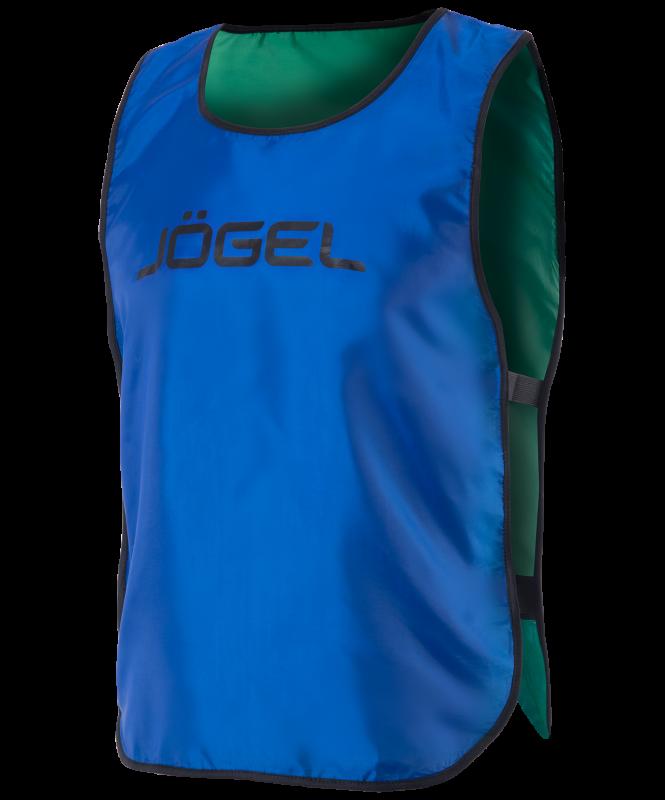Манишка двухсторонняя Reversible Bib, синий/зеленый, детский, Jögel