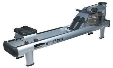 Гребной тренажер Water Rower 510 S4 с дисплеем на высоких ножках серии M1