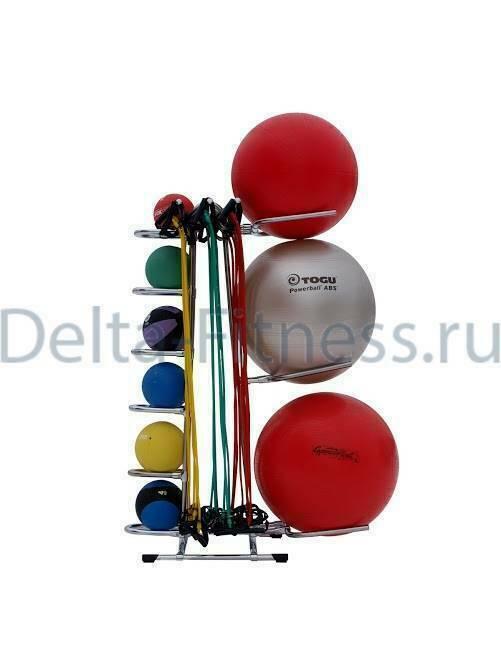 Комбинированная подставка для фитболов,медболов и эспандеров
