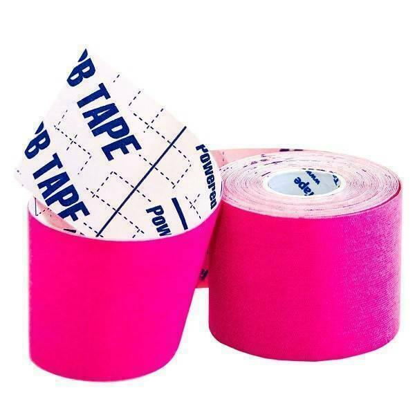 Кинезио тейп BBTape™ ICE 5см × 5м розовый