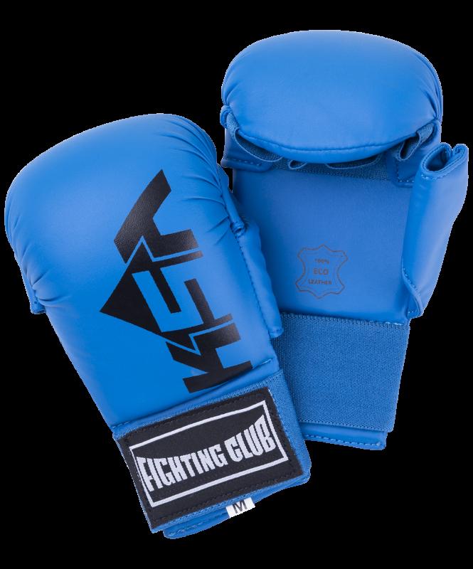 Накладки для карате Kick Blue, к/з, KSA
