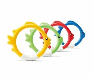 """Подводные кольца Intex """"Рыбки"""" 55507"""
