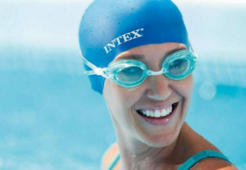Шапочка для плавания Intex от 8 лет 55991