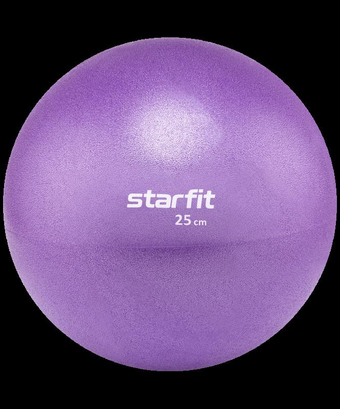 Мяч для пилатеса GB-902, 25 см, фиолетовый, Starfit
