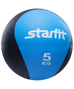 Медбол PRO GB-702, 5 кг, синий, Starfit