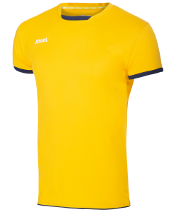 Футболка волейбольная JVT-1030-049 желтый/темно-синий, Jögel