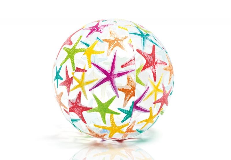 Мяч Intex разноцветный 61см 59050