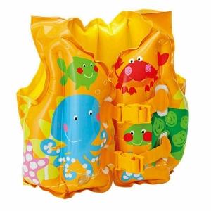 """Надувной страховочный жилет """"Tropical Buddies Swim Vest"""" Intex 59661"""