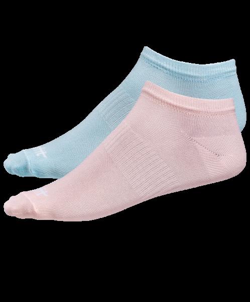 Носки низкие SW-205, персиковый/светло-бирюзовый, 2 пары, Starfit