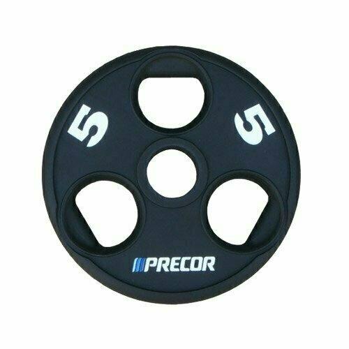 Олимпийский диск в уретане с логотипом Precor FM\UPP вес 5 кг.
