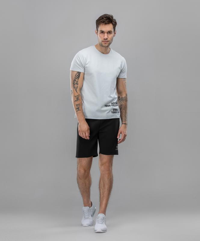 Мужская спортивная футболка Intense FA-MT-0104, серый, FIFTY