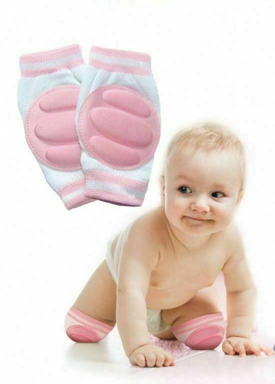 Наколенники детские для ползания розовые BRADEX DE 0136
