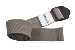 Ремешок для йоги серый BRADEX SF 0410