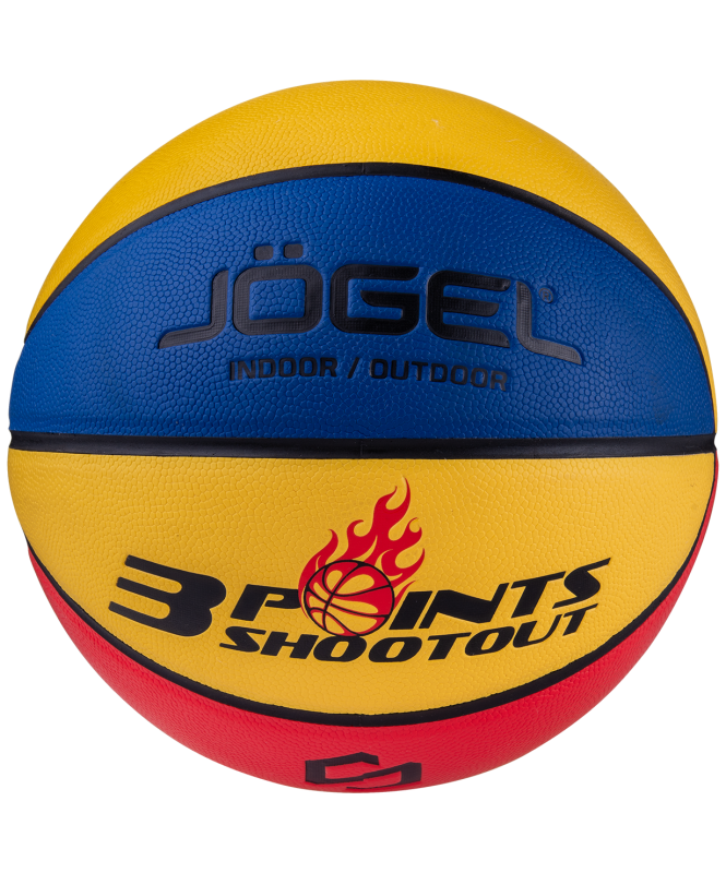 Мяч баскетбольный Streets 3POINTS №7, Jögel