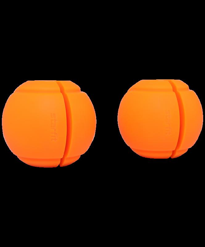 Комплект расширителей хвата BB-111, d=25 мм, сфера, оранжевый, 2 шт., Starfit