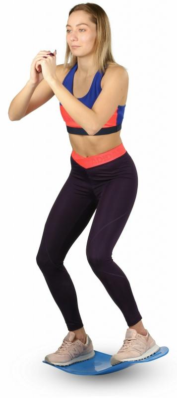 Доска балансировочная INDIGO workout board twist розовая