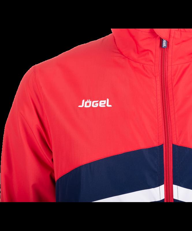 Костюм парадный JLS-4401-921, полиэстер, темно-синий/красный/белый, Jögel